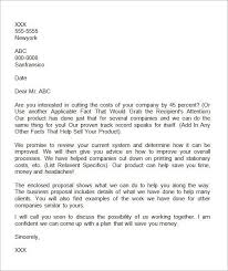 business offer letter template 32 sample business proposal