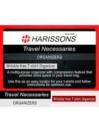 t shirt organizer harissons wrinkle free t shirt organizer red hbn11red travel