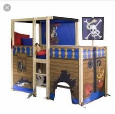 Thuka Bunk Bed Thuka Solid Pine Pirate Mid Sleeper Bed Ebay