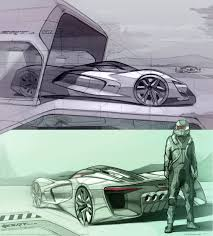 Car Plan View Srt Tomahawk Vision Gran Turismo Concept Plan View Sketch