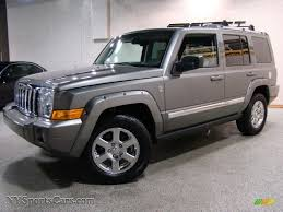jeep grey 2007 jeep commander limited 4x4 in mineral gray metallic 585171