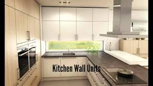 Wallunits Kitchen Wall Units Youtube