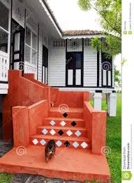 colonial style bungalow in malaysia stock photo image 39514925