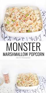 monster marshmallow popcorn pretty providence