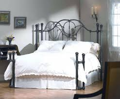 queen size leather headboard low wood wrought iron king size bed
