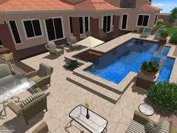Swimming Pool Ideas For Backyard Desert Springs Pools U0026 Spas Las Vegas Henderson Pahrump Nv