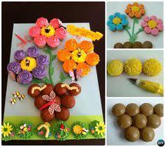 DIY Gorgeous Pull Apart Cupcake Cake Design Ideas Peacock - Pull apart cupcake designs