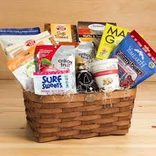 gourmet gift baskets allergy free gourmet gift basket mildred s