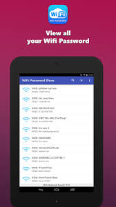 show apk wifi password show apk for android
