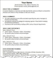 resume templates accounting assistant job summary exle accounting job resume sles paso evolist co