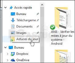 mettre les favoris sur le bureau ajouter un dossier aux favoris windows 10