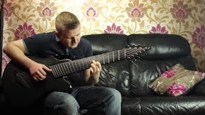9 string fanned fret amazing acoustic guitar 9 string fan fret youtube