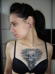 wonderful chest tattoo designs for women pictures fashion gallery