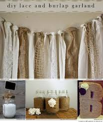 wedding backdrop burlap burlap garland picmia