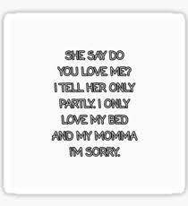 I Love My Bed Meme - drake meme song gifts merchandise redbubble