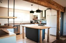 comptoir de cuisine sur mesure cuisine comptoir bois coffeedential co