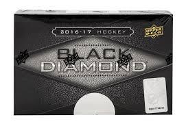 2016 17 upper deck black diamond hockey hobby box da card world