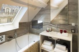 bathroom shelf rack brown wooden toiletries tray built in wooden