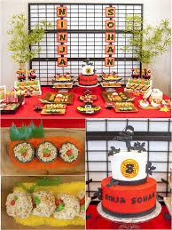 Diy Birthday Party Theme Ideas A Japanese Origami Ninja Birthday Party Ninja Training