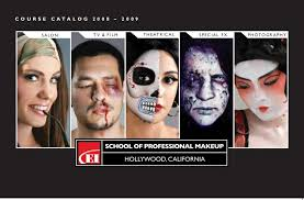 special effects make up school makeup artist courses catalog 2009