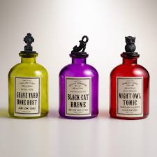 potion bottles for halloween throwing a grown up halloween party apartminty