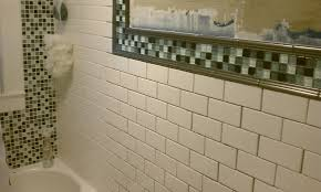 help with bathroom tile choice with subway tile mirror floor