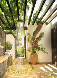 Outdoor Pool Shower Ideas - the 25 best outdoor showers ideas on pinterest outdoor pool