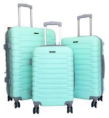 Amazon Travel Accessories Amazon Com 3pc Luggage Set Hardside Rolling 4wheel Spinner