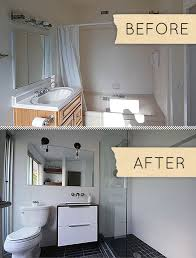 bathroom remodel ideas before and after before after a humdrum bathroom gets a modern makeover design