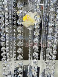 Crystal Garland For Christmas Tree 5m Sparkle Aaa Crystal Garland Strand Hanging 14mm Octagon Bead
