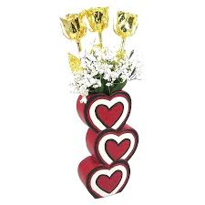 gold dipped roses gold dipped roses past present future gold roses in 3 heart vase