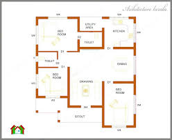 three bedroom house plans 3 bedroom home plans kerala three bedrooms in square