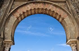 Moorish Architecture Horseshoe Arch Moorish Architecture Stock Photo Picture And
