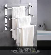 304 Stainless Steel Towel Ladder Shelf Towel Rack Multifunctional