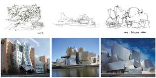 gehry u0027s sketch and the mit stata center massachusetts left