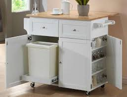 Kitchen Trash Cabinet Pull Out Diy Pull Out Trash Can In A Kitchen Cabinet Amazing Idea