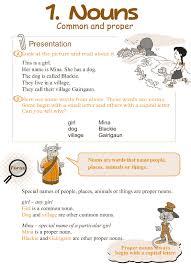 grade 3 grammar lesson 1 nouns u2013 common and proper grade 3