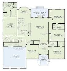 home plans homepw76422 2 454 square feet 4 bedroom 3 house plan 110 00573 southern plan 2 486 square feet 4