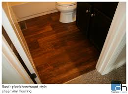 vinyl flooring provides the look without the price
