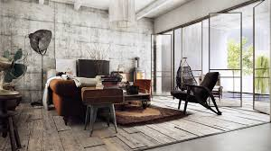 Industrial Home Interior Design Industrial Interior Design Of Impressive Home Details Brick