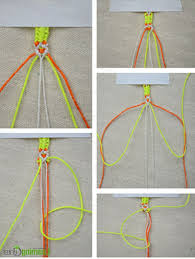 string knots bracelet images How to weave a knotted friendship bracelet with strings myshoplah jpg