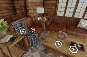 interior of a home wayfair rolls out a home design virtual reality app