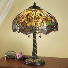 green tiffany lamp lighting and ceiling fans