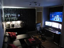 Corner Gaming Desk by If My Room Didn U0027t Have Windows In It Or Have Doors At Every Corner
