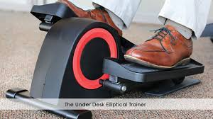 under desk foot exerciser the under desk elliptical trainer youtube