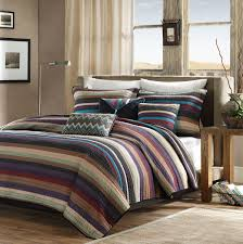 Coverlet Bedding Sets Amazon Com Madison Park Yosemite 6 Piece Quilted Coverlet Set