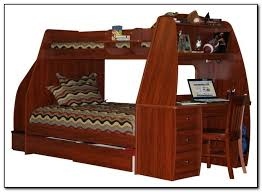 Bunk Bed With Trundle And Desk Beds  Home Design Ideas - Trundle bunk bed with desk