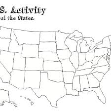 us map states and capitals quiz usa state map test map of usa