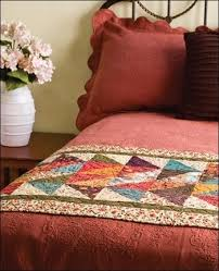 52 best quilted bed runners images on pinterest bed runner