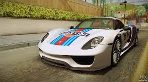 918 Porsche 2013 - 918 spyder 2013 sa plate for gta san andreas